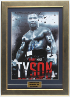 Mike Tyson Signed 16x22 Custom Framed Photo Display (PSA COA) at PristineAuction.com