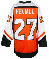 "Ron Hextall Signed Jersey Inscribed ""87 Vezina"" (JSA COA) at PristineAuction.com"