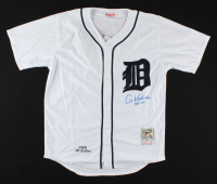 "Al Kaline Signed Tigers Jersey Inscribed ""HOF 80"" (Beckett COA) at PristineAuction.com"