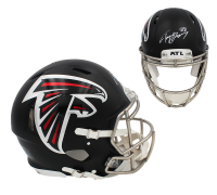 Tony Gonzalez Signed Falcons Full-Size Authentic On-Field Speed Helmet (Radtke COA) at PristineAuction.com
