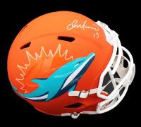 Dan Marino Signed Dolphins Full-Size AMP Alternate Speed Helmet (Fanatics Hologram) at PristineAuction.com