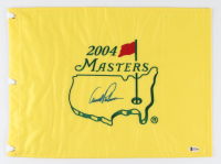Arnold Palmer Signed 2004 Masters Golf Pin Flag (Beckett LOA) at PristineAuction.com