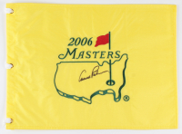 Arnold Palmer Signed 2006 Masters Golf Pin Flag (PSA LOA) at PristineAuction.com