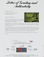 Arnold Palmer Signed 2006 Masters Golf Pin Flag (PSA LOA) at PristineAuction.com