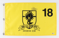 Jack Nicklaus Signed U.S. Senior Open Pin Flag (Beckett LOA) at PristineAuction.com