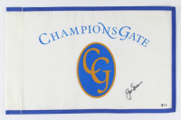 Jack Nicklaus Signed Champion's Gate Pin Flag (Beckett LOA) at PristineAuction.com