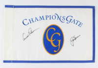 Arnold Palmer & Jack Nicklaus Signed Champion's Gate Pin Flag (Beckett LOA) at PristineAuction.com