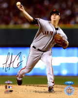 Matt Cain Signed Giants 8x10 Photo (TriStar Hologram) at PristineAuction.com
