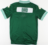 Larry Bird Signed Celtics Warm-Up Jacket (Bird Hologram) at PristineAuction.com