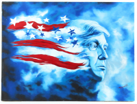 "Hector Monroy Signed ""Donald Trump"" 24x32 Oil Painting On Canvas (PA LOA) at PristineAuction.com"