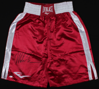 Mike Tyson Signed Everlast Boxing Trunks (PSA COA) at PristineAuction.com
