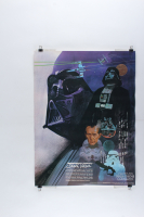 Vintage 1977 Coca Cola Star Wars 18x24 Poster at PristineAuction.com