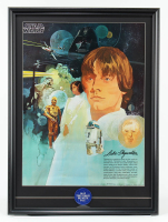 "1977 ""Star Wars"" 22x30 Promotion Only Coca Cola Poster with 1977 Original Lapel Pin at PristineAuction.com"