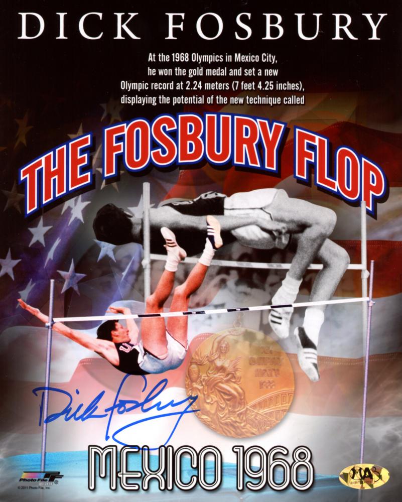 Dick Fosbury Signed Team USA 8x10 Photo (MAB Hologram) at PristineAuction.com