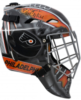 "Ron Hextall Signed Flyers Full Size Goalie Mask Inscribed ""87 Vezina"" (JSA COA) at PristineAuction.com"