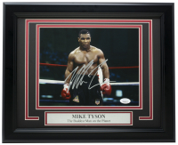 Mike Tyson Signed 11x14 Custom Framed Photo Display (JSA COA) at PristineAuction.com