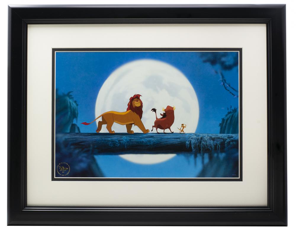 Walt Disney S The Lion King Hakuna Matata 16x20 Custom Framed Photo Display Pristine Auction