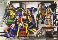 "Greg Horn Signed LE Marvel ""Women of X-Men"" 13x19 Lithograph (JSA COA) at PristineAuction.com"