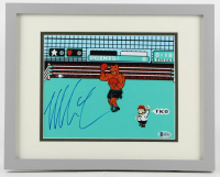 """Mike Tyson Signed """"Punch-Out!!"""" 12x15 Custom Framed Print (Beckett COA) at PristineAuction.com"""