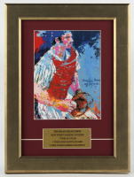 "LeRoy Neiman ""Thurman Munson"" 11.5x15.5 Custom Framed Print Display at PristineAuction.com"