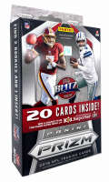2019 Panini Prizm Football Hanger Box with (20) Cards at PristineAuction.com