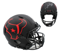 Andre Johnson Signed Texans Full-Size Authentic On-Field Eclipse Speed Helmet (JSA COA) at PristineAuction.com