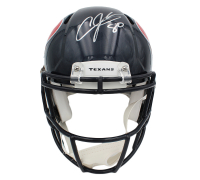 Andre Johnson Signed Texans Full-Size Authentic On-Field Speed Helmet (JSA COA) at PristineAuction.com