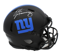 Eli Manning Signed Giants Full-Size Authentic On-Field Eclipse Alternate Speed Helmet (Fanatics Hologram) at PristineAuction.com