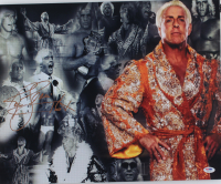 Ric Flair Signed WWE 16x20 Photo (PSA COA) at PristineAuction.com