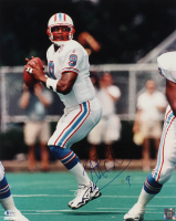 Steve McNair Signed Oilers 16x20 Photo (Beckett COA) at PristineAuction.com