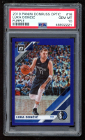 Luka Doncic 2019-20 Donruss Optic Purple #16 (PSA 10) at PristineAuction.com