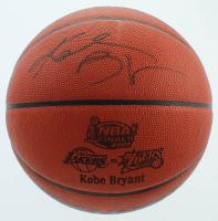 Kobe Bryant Signed 2001 NBA Finals Basketball (PSA Hologram & Beckett LOA) at PristineAuction.com