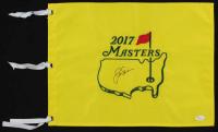 Jack Nicklaus Signed 2017 Masters Pin Flag (JSA LOA) at PristineAuction.com
