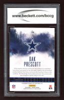 Dak Prescott 2016 Panini Origins #130 Autographs RC (BCCG 10) at PristineAuction.com