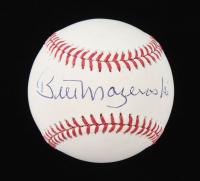 Bill Mazeroski Signed OML Baseball (TSE COA) at PristineAuction.com
