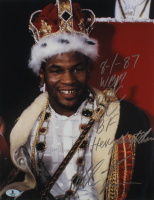 Mike Tyson Signed 11x14 Photo With (5) Inscriptions (Beckett COA) at PristineAuction.com