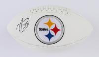 Minkah Fitzpatrick Signed Steelers Logo Football (Beckett COA) at PristineAuction.com