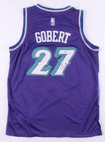 Rudy Gobert Signed Jazz Jersey (PSA COA) at PristineAuction.com