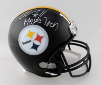 """Chase Claypool Signed Steelers Full-Size Helmet Inscribed """"Mapletron"""" (Beckett COA) at PristineAuction.com"""