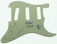 """Ed Gale Signed Electric Guitar Pickguard Inscribed """"Howard T. Duck"""" (PSA Hologram) at PristineAuction.com"""