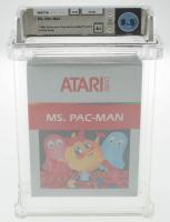"1988 ""Ms. Pac-Man"" Atari 2600 Video Game (WATA 8.5) at PristineAuction.com"