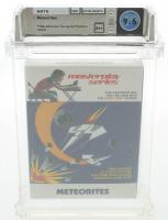 """1984 """"Meteorites"""" Atari 5200 Video Game (WATA 9.6) at PristineAuction.com"""
