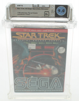 "1983 ""Star Trek: Strategic Operations Simulator"" Atari 5200 Video Game (WATA 9.0) at PristineAuction.com"