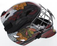 "Tony Esposito Signed Blackhawks Full-Size Goalie Mask Inscribed ""HOF 88"" (Schwartz COA) at PristineAuction.com"
