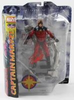 """Stan Lee Signed """"Captain Marvel Select"""" Marvel Select Action Figure (Radtke Hologram & Lee Hologram) at PristineAuction.com"""