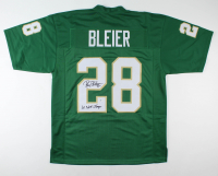 """Rocky Bleier Signed Jersey Inscribed """"'66 Natl Champs"""" (Beckett COA) at PristineAuction.com"""