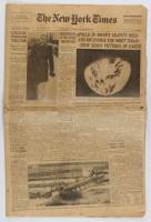Original December 24, 1968 The New York Times Newspaper at PristineAuction.com