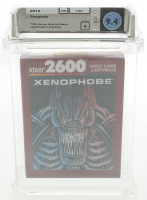 "1990 ""Xenophobe"" Atari 2600 Video Game (WATA 9.4) at PristineAuction.com"