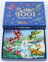 2001 Disneyland Tokyo Pin Set with Original Packaging at PristineAuction.com
