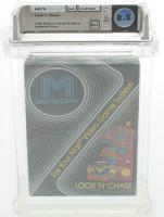 "1982 ""Lock N Chase"" Atari 2600 Video Game (WATA 8.5) at PristineAuction.com"